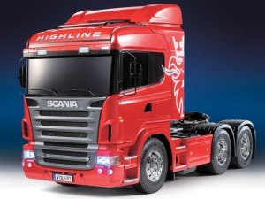 Tamiya 23670 Scania R620 6x4 Highline Full Option Red RTR