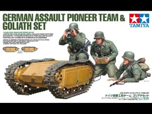 Tamiya 35357 1/35 German Goliath with Pioneer Team