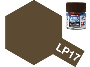 Tamiya 82117 LP-17 Linoleum Deck Brown 10 ml