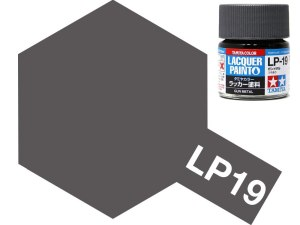 Tamiya 82119 LP-19 Gun Metal 10 ml