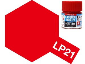 Tamiya 82121 LP-21 Italian Red 10 ml