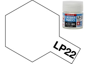 Tamiya 82122 LP-22 Flat Base 10 ml
