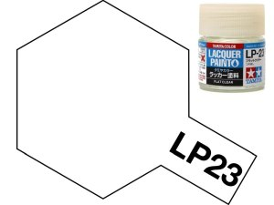 Tamiya 82123 LP-23 Flat Clear 10 ml