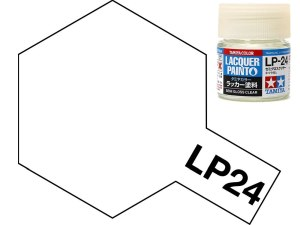 Tamiya 82124 LP-24 Semi Gloss Clear 10 ml