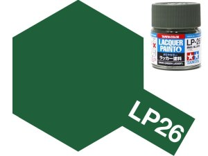 Tamiya 82126 LP-26 Dark Green JGSDF 10 ml