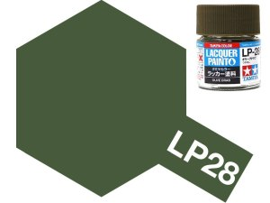 Tamiya 82128 LP-28 Olive Drab 10 ml